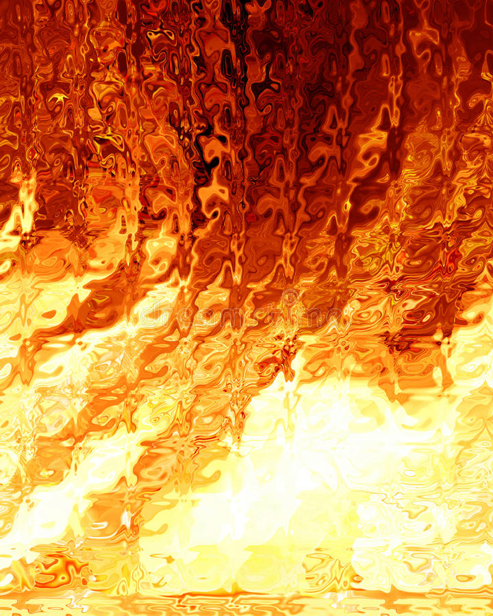 Abstract fire. Background with some smooth lines in it royalty free illustration