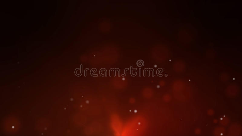 Abstract fire bokeh. For background stock illustration