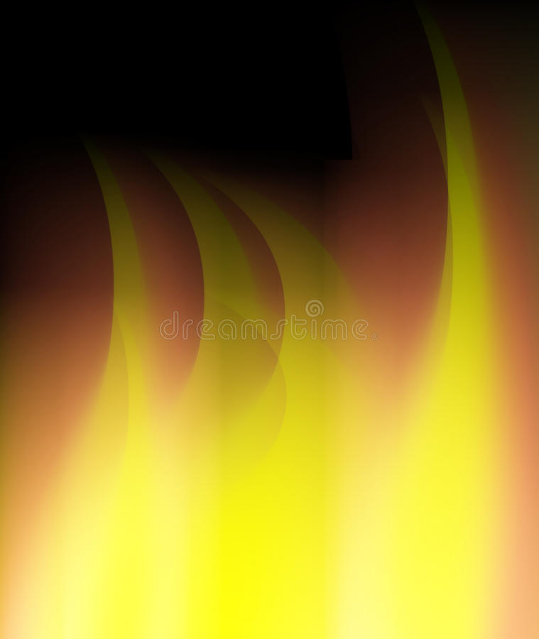 Abstract fire flames background royalty free illustration