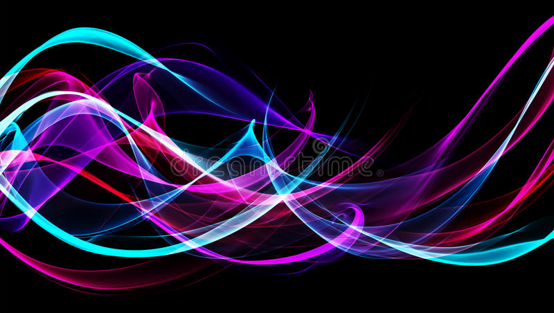 Abstract Flame Background Royalty Free Stock Photos