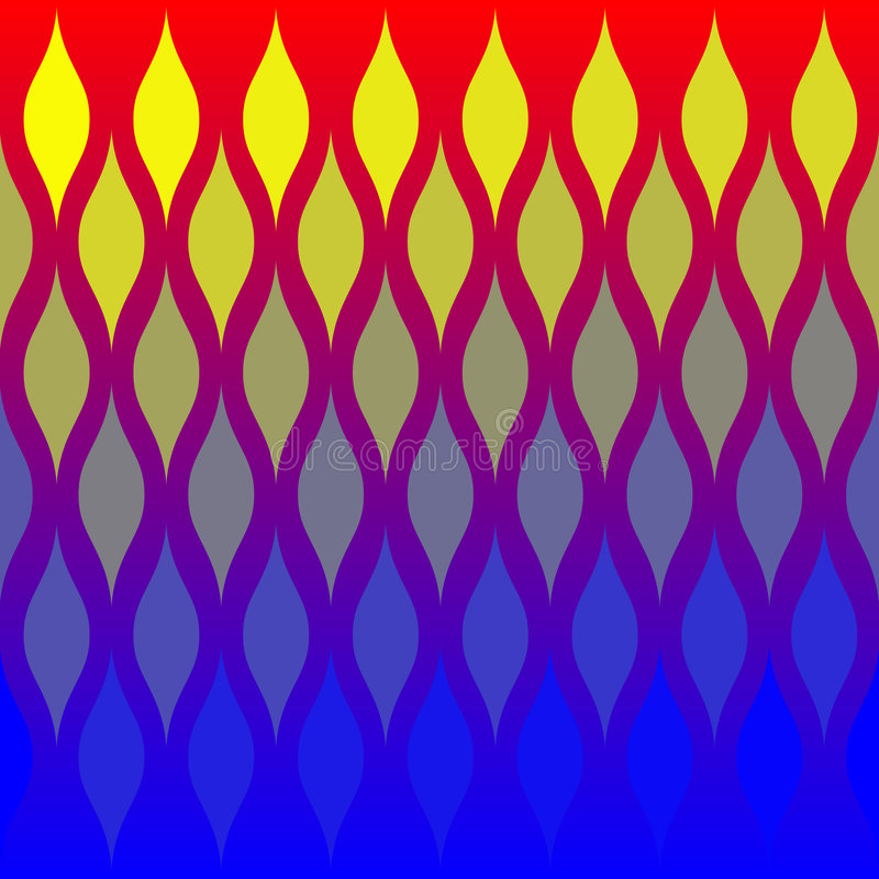 Download Abstract Flames Tile Pattern Stock Illustration - Illustration: 1675839