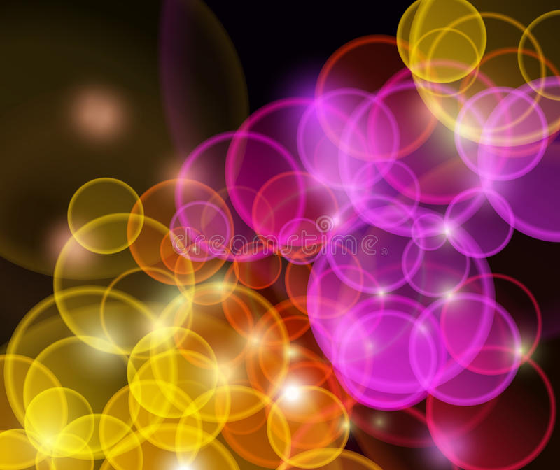 Abstract flaring background. Clip-art royalty free illustration