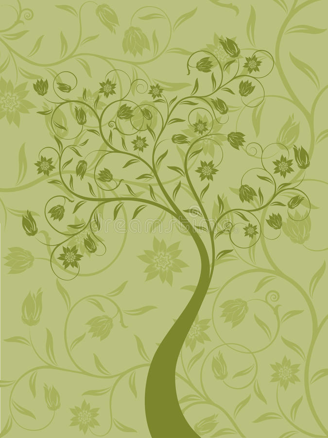 Download Abstract Floral Background. Stock Vector - Image: 12139385