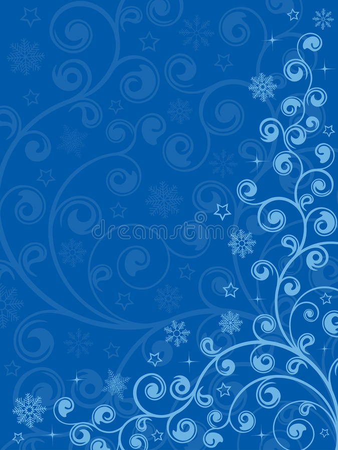 Download Abstract floral background stock vector. Image of blue - 12164090