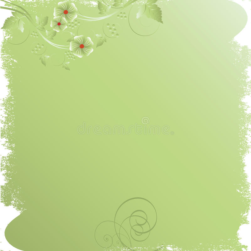 Free Abstract Floral Background Royalty Free Stock Images - 12694379