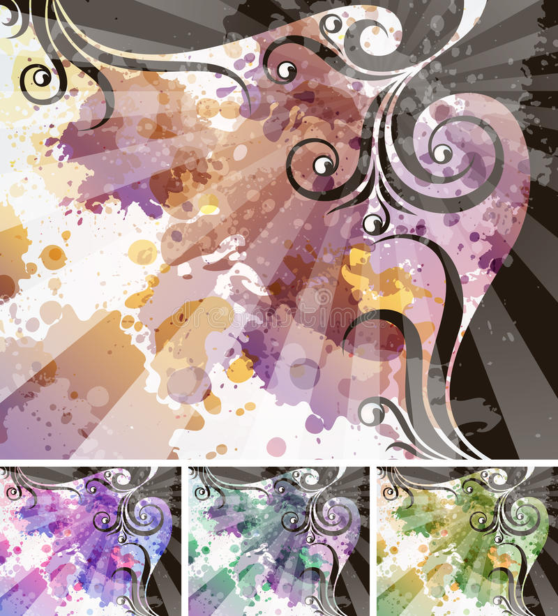 Free Abstract Floral Background Royalty Free Stock Photo - 17220555