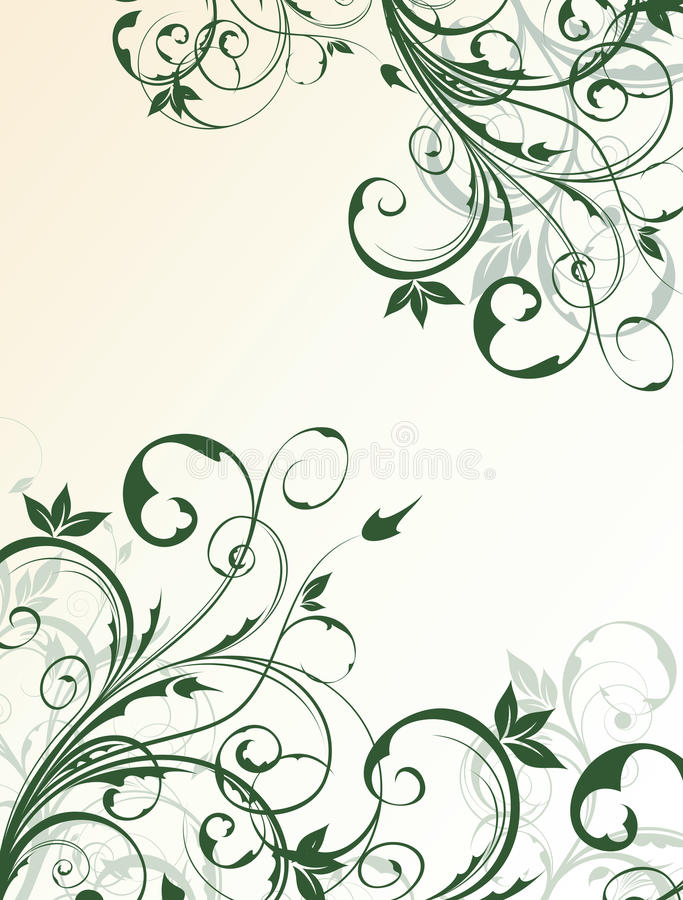 Download Abstract floral background stock photo. Image of ornate - 17481350