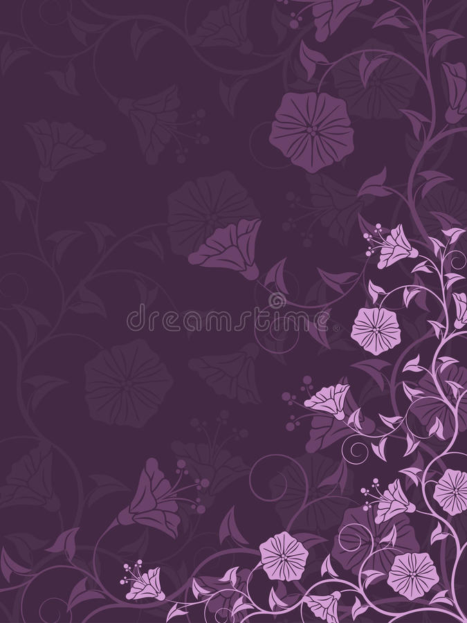 Download Abstract floral background stock vector. Illustration of blade - 20813988