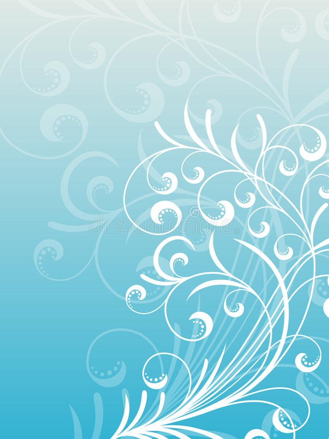 Download Abstract floral background stock vector. Illustration of decoration - 21634703