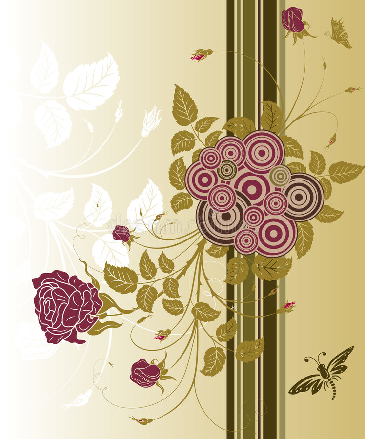 Download Abstract floral background stock vector. Image of copy - 2322696