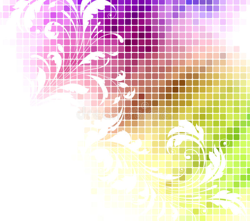 Download Abstract floral background stock illustration. Image of plant - 25268198