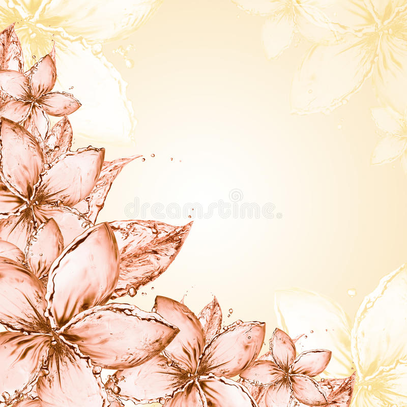 Download Abstract floral background stock illustration. Image of pink - 26189065