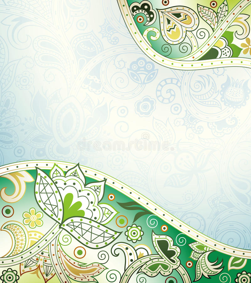 Download Abstract Floral Background stock illustration. Image of petal - 27634445