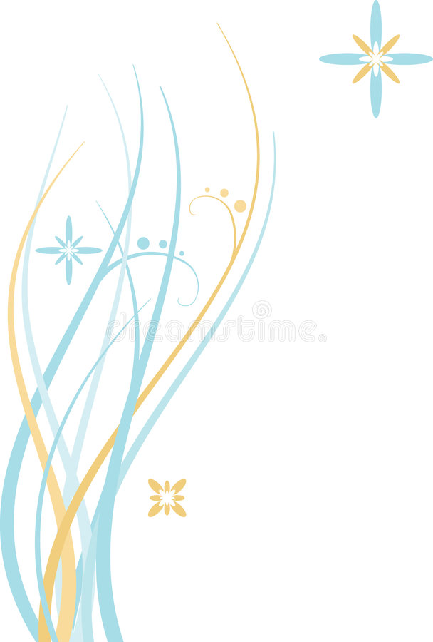 Download Abstract Floral Background stock vector. Image of background - 5213223