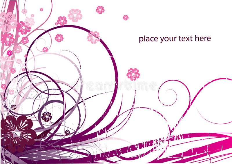 Download Abstract floral background stock vector. Illustration of element - 5498814