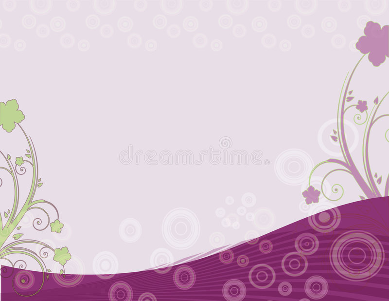 Download Abstract floral background stock illustration. Illustration of illustrated - 6494250
