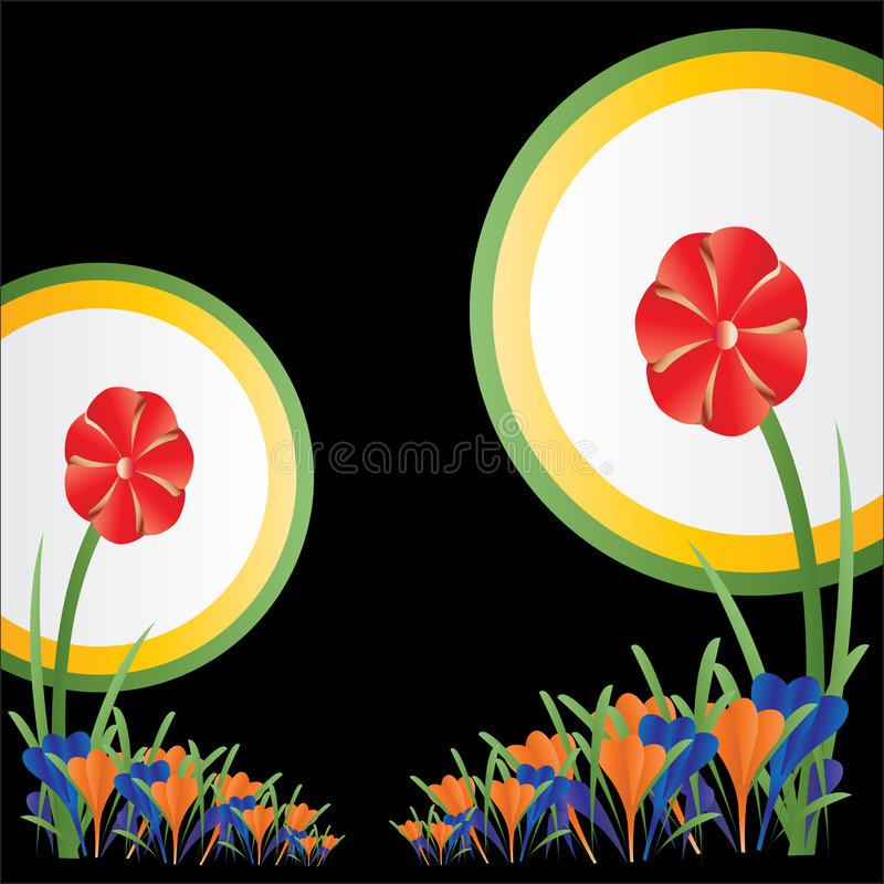 Download Abstract Floral Background stock vector. Image of graphic - 7193615