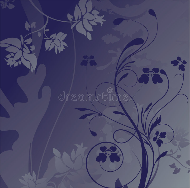 Download Abstract floral background stock vector. Image of rusty - 8019421