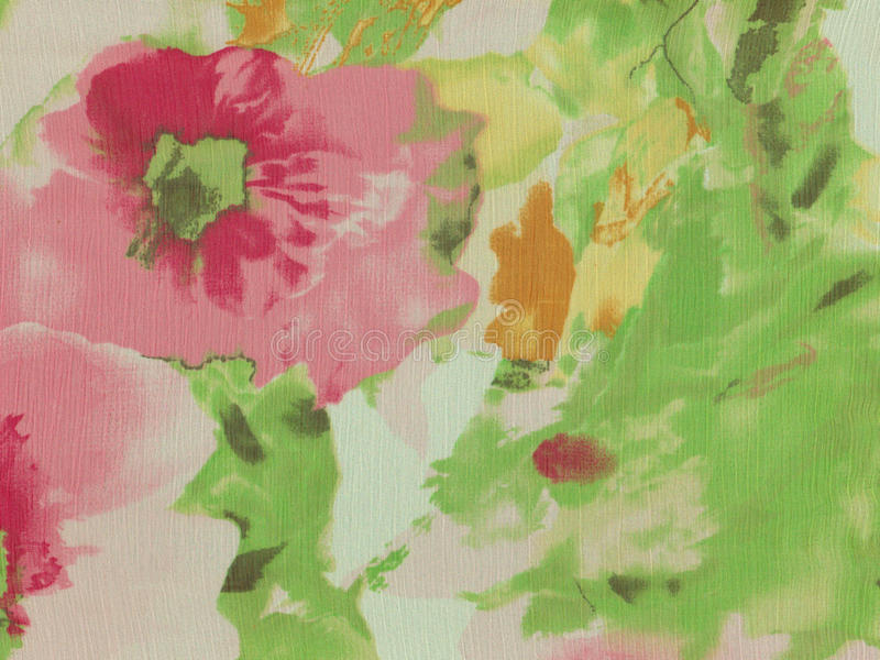 Abstract floral background. stock illustration