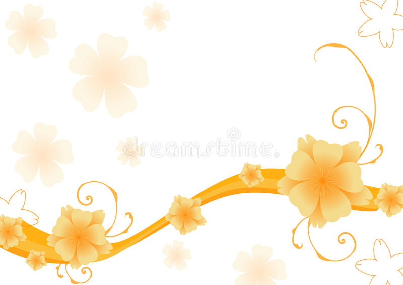 Download Abstract Floral Background. Vector. Stock Vector - Image: 18491382