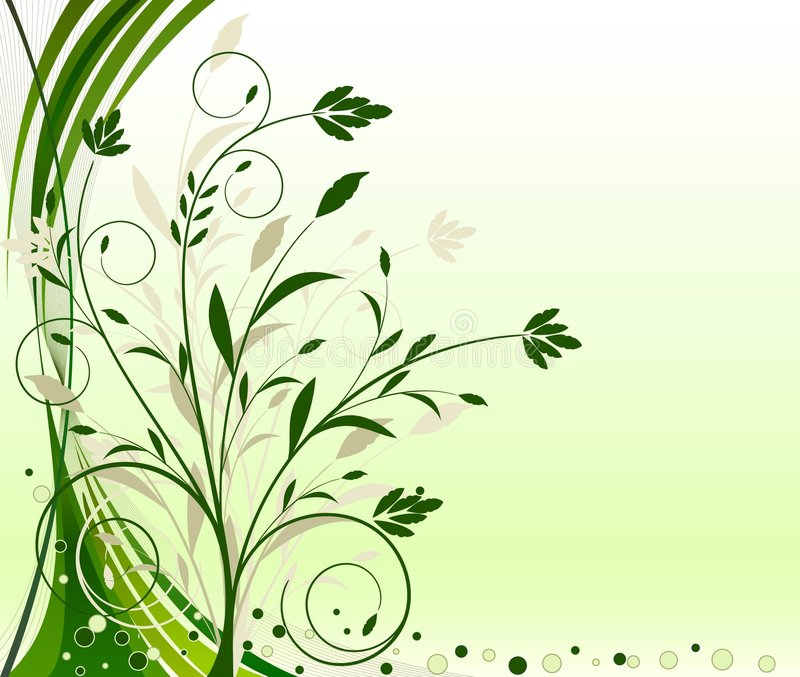 Abstract floral background vector vector illustration