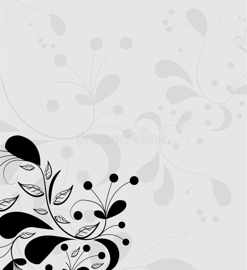 Abstract floral background. Vector illustration. Abstract decorative floral background. Vector vector illustration