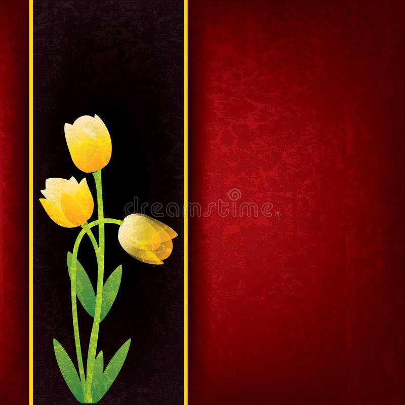Free Abstract Floral Background With Spring Flowers Stock Images - 22608334
