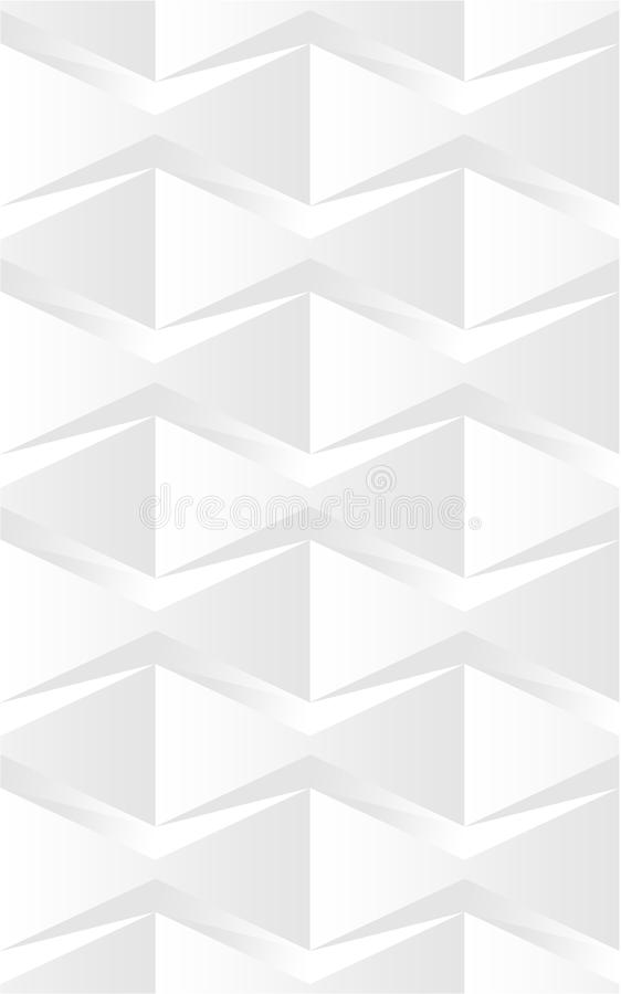Abstract Floral 3d Seamless Pattern 03 vector illustration