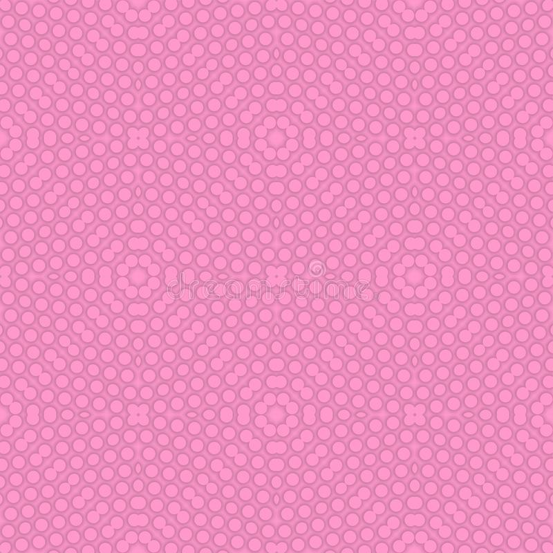Abstract Floral 3d Seamless Pattern. Design stock illustration