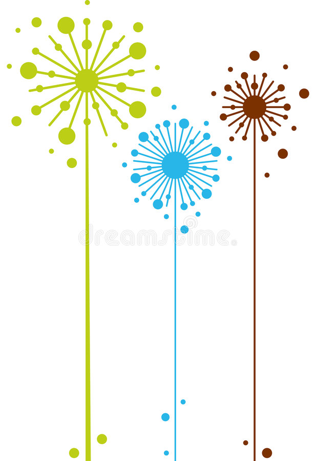 Download Abstract floral design stock vector. Illustration of nature - 5644711
