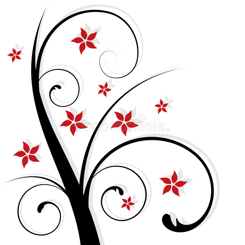 Free Abstract Floral Design Royalty Free Stock Photos - 6897718