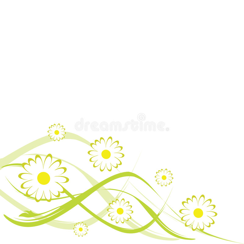 Download Abstract floral design stock vector. Image of space, white - 6903330