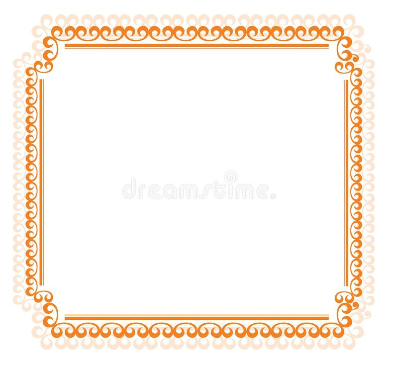 Abstract Floral Frame Royalty Free Stock Image