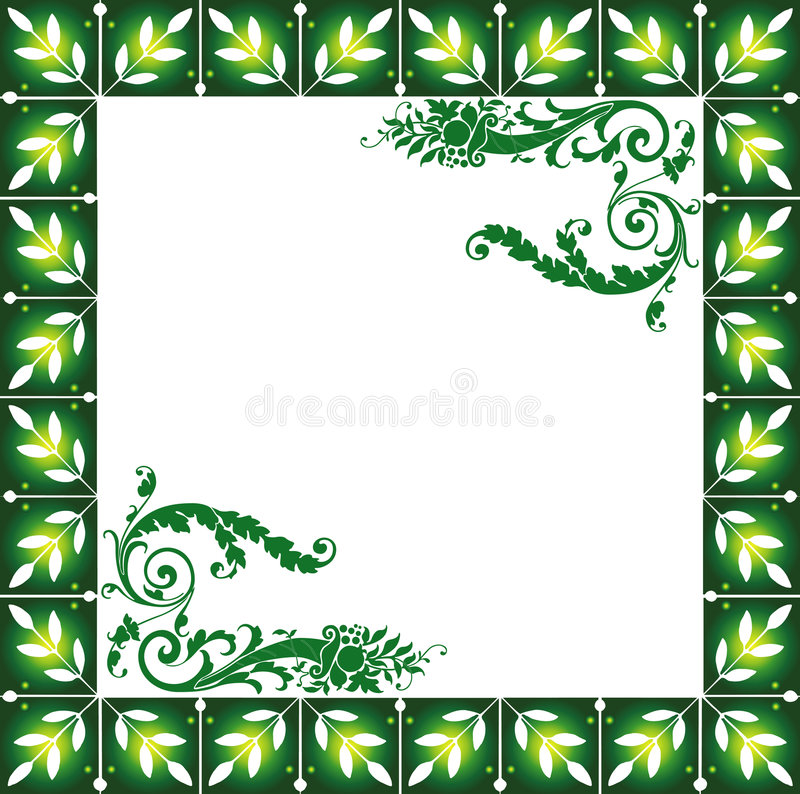 Download Abstract Floral Frame Royalty Free Stock Photo - Image: 2252605