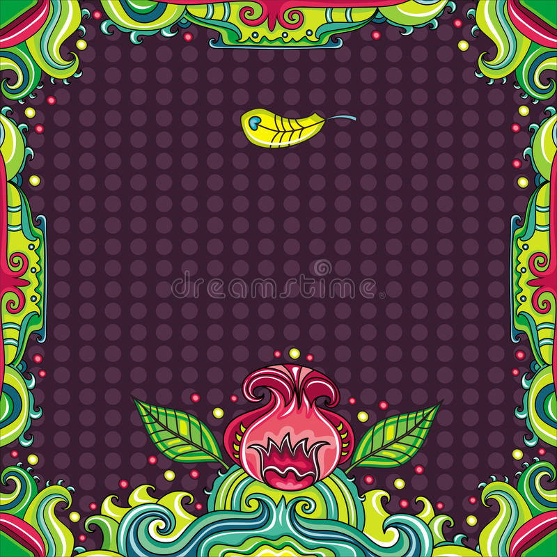 Download Abstract Floral Frame (series) Stock Vector - Image: 14074424