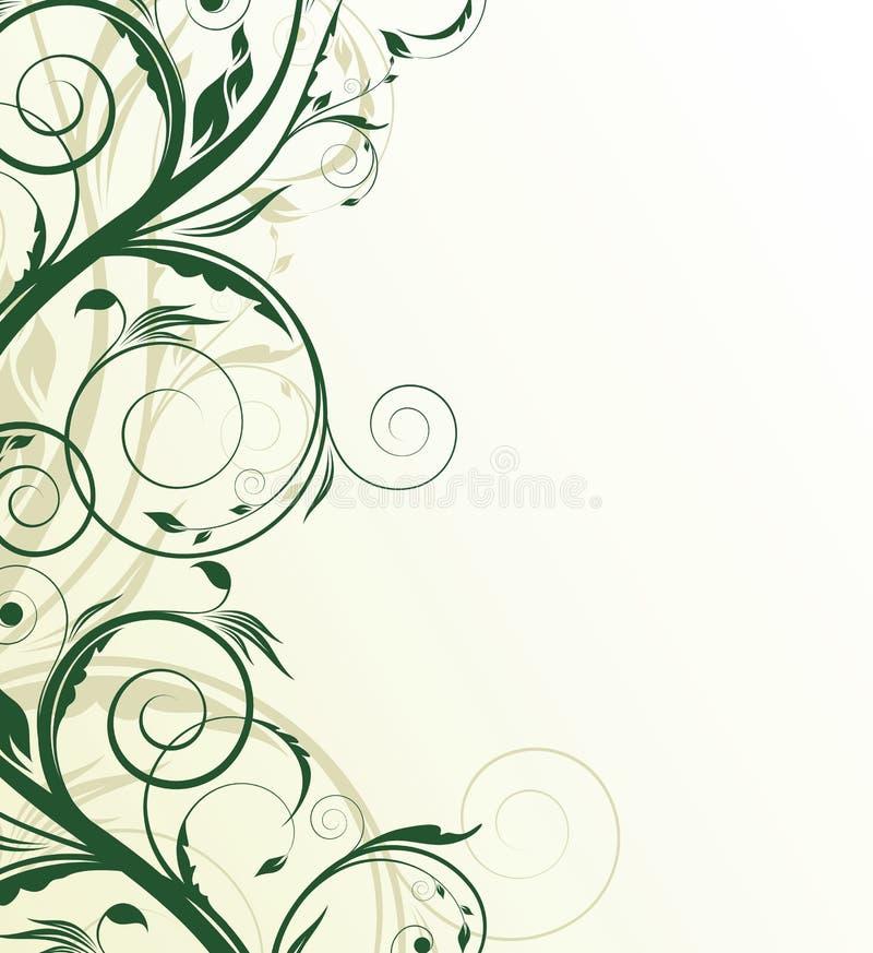 Abstract floral illustration vector illustration