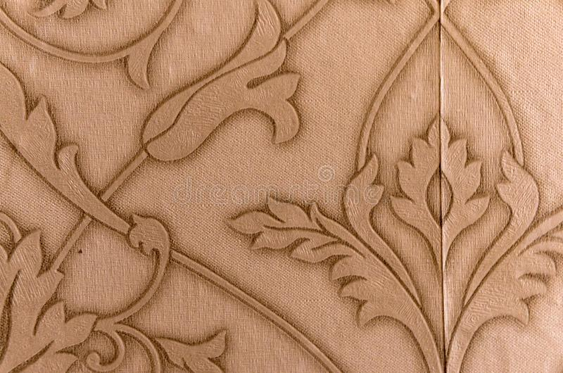 Abstract floral ornament. Details closeup stock image