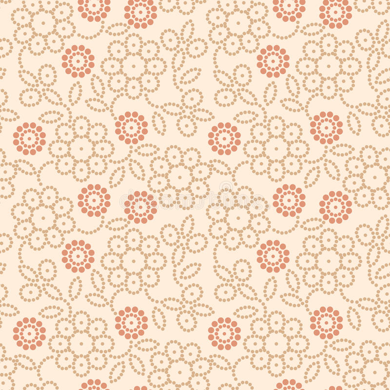 Abstract floral pattern vector illustration