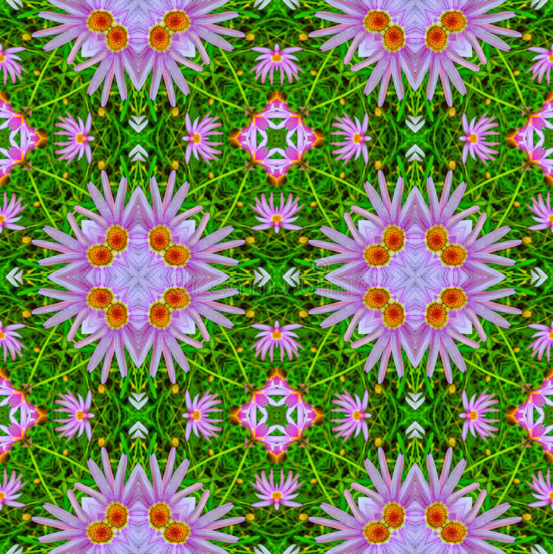 Abstract floral pattern 1 stock illustration