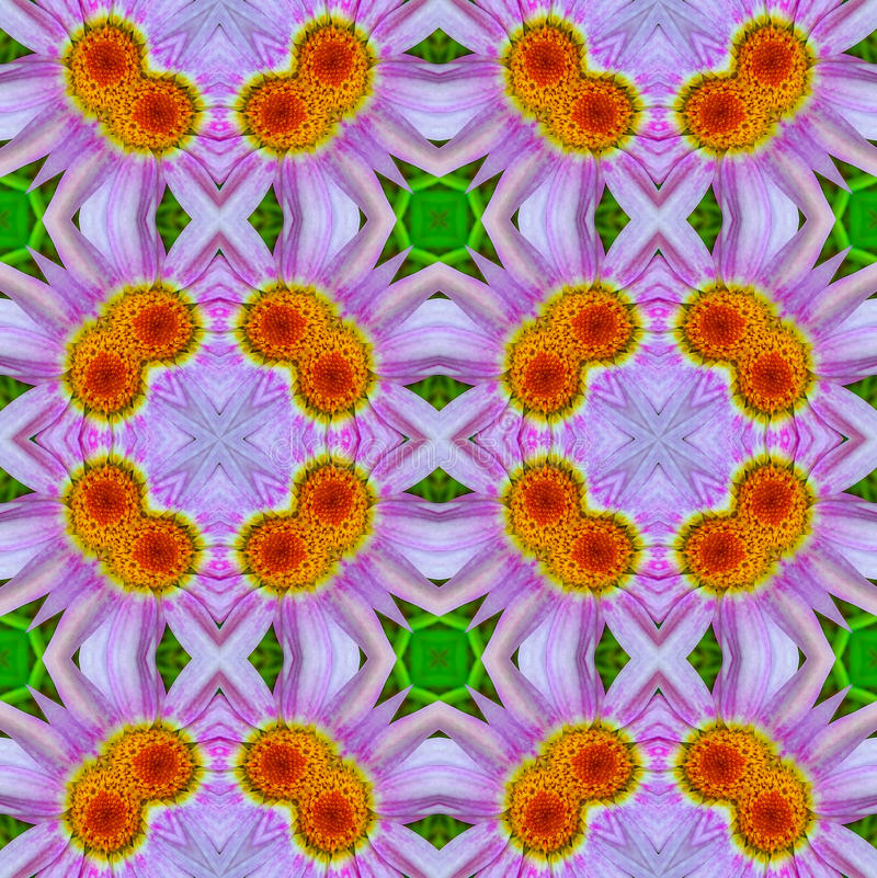 Abstract floral pattern 5 stock illustration