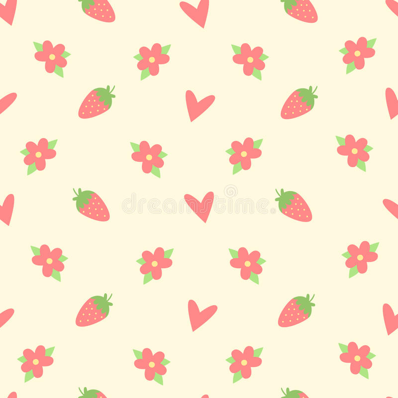 Abstract floral pattern seamless royalty free illustration