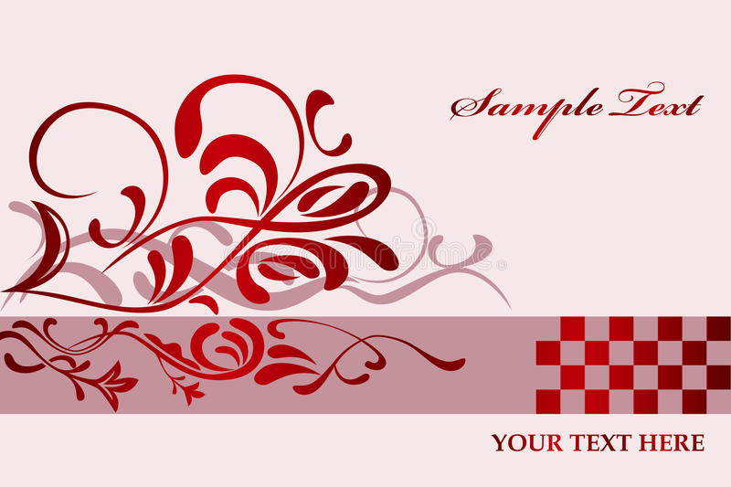 Download Abstract Floral Pink Background Stock Vector - Illustration of design, classical: 14861941