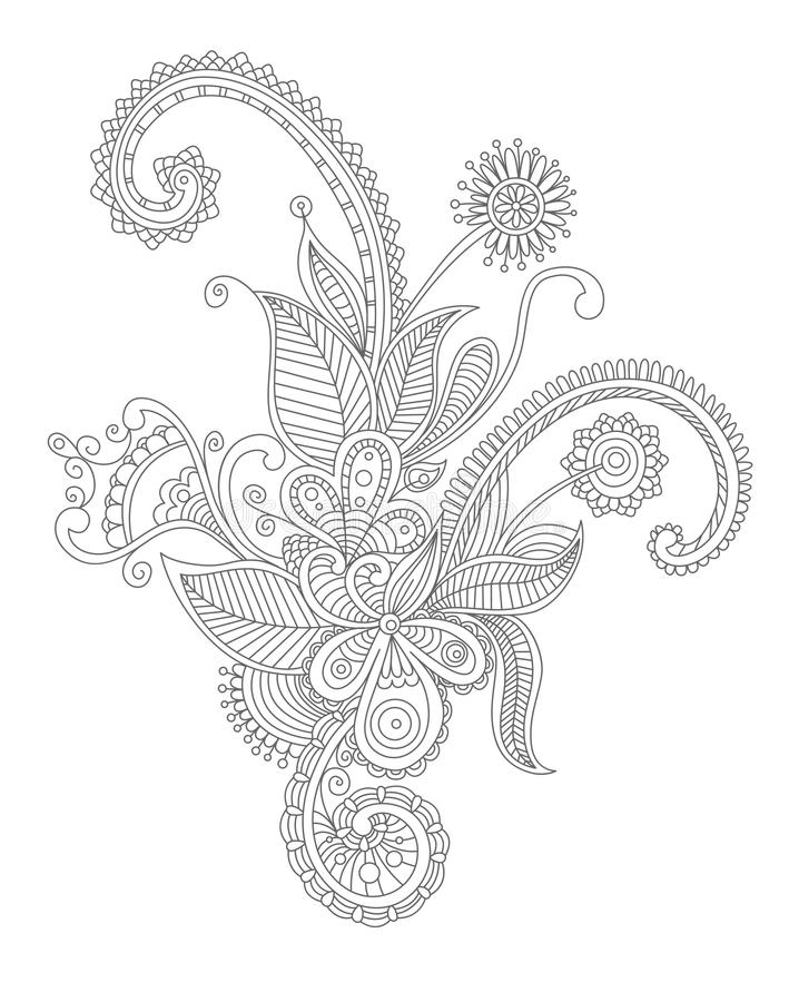 Download Abstract Flourish Background Stock Vector - Image: 26151452