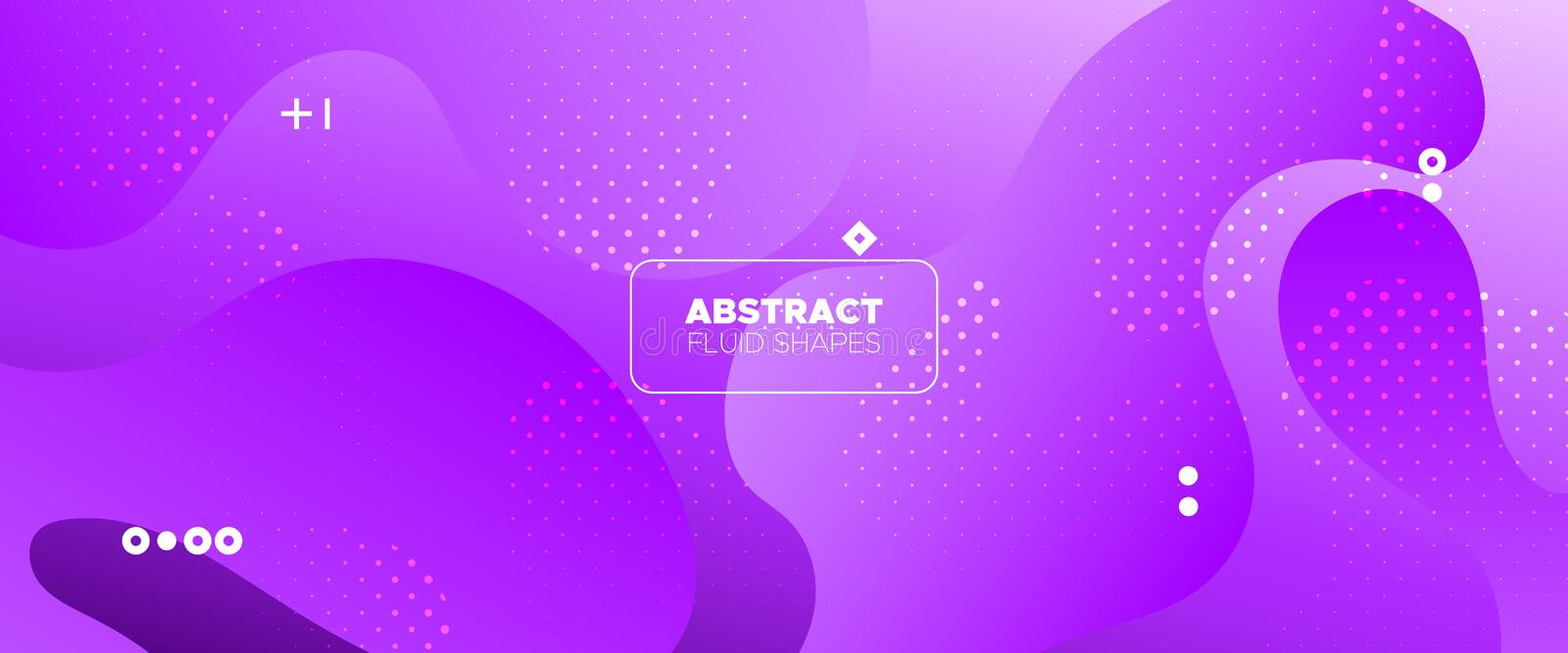 Abstract Flow Design. Light Gradient Poster. Magenta Graphic Movement. Futuristic Concept. Abstract Wave Shapes. Minimal Poster. Vivid Graphic Wallpaper stock illustration