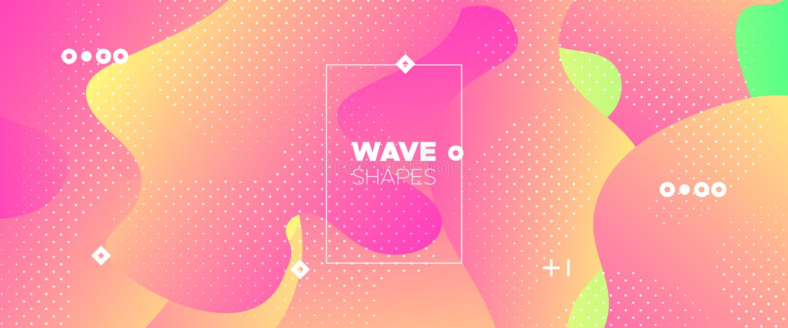 Abstract Flow Design. Vivid Minimal Brochure. Pastel Graphic Movement. Digital Template. Abstract Fluid Pattern. Minimal Poster. Graphic Wallpaper. Futuristic royalty free illustration