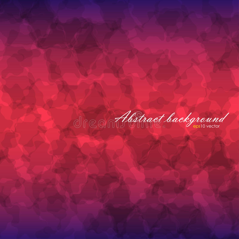 Abstract flow texture background. With linear gradient backdrop from blue to red and blue again. There is example of inscription for your text vector illustration