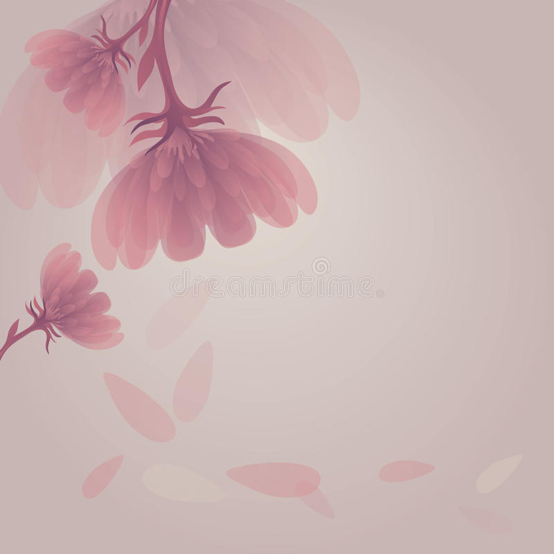 Abstract flower royalty free illustration