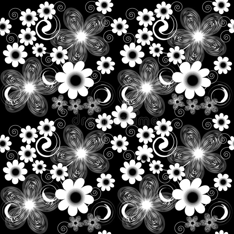 Abstract flower background vector illustration