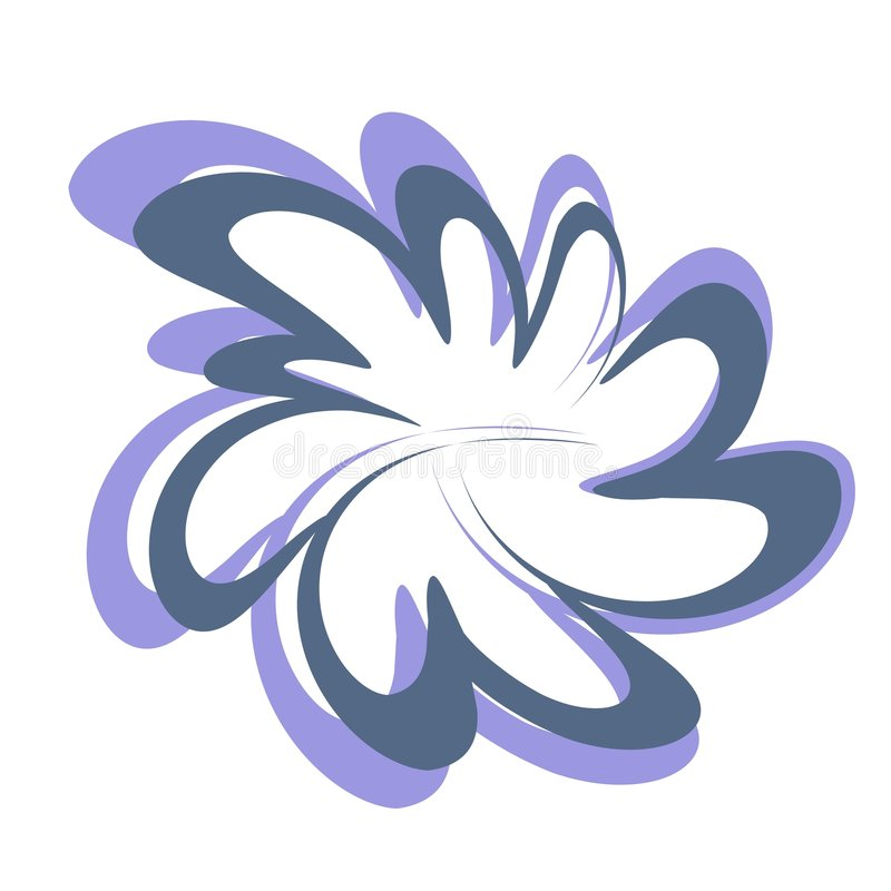Download Abstract Flower Design Clipart Stock Illustration - Image: 2232740