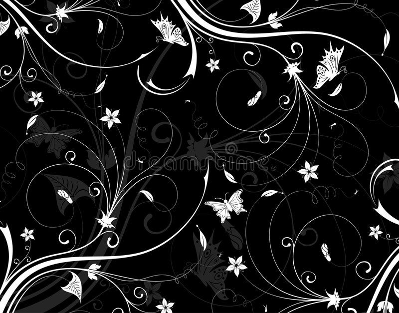 Download Abstract flower pattern stock vector. Image of drawing - 2529318